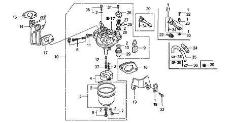 Honda Gx270 Parts Diagram